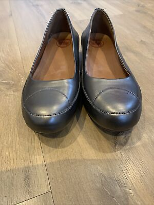Fitflop Bronze Metallic Leather Pump Shoes Uk 6 Size 39 • 12.50£