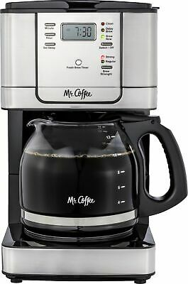 $42.99 • Buy Mr. Coffee - 12-Cup Coffee Maker With Strong Brew Selector - Stainless Steel