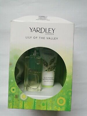Yardley Lily Of The Valley Gift Set Eau De Toilette And Hand Cream • 2.20£