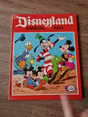 £4 • Buy The Disneyland Annual 1983 Unclipped VGC Vintage