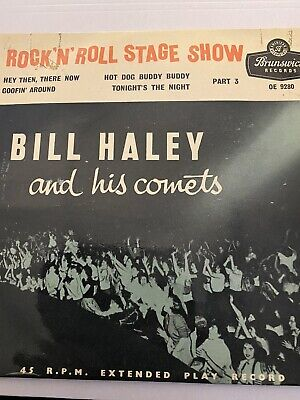 Bill Haley And His Comets . Rock N Roll Stage Show Part 3    Brunswick OE 9280 • 1.20£