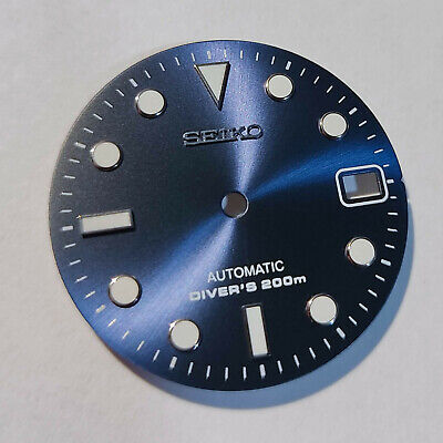 $ CDN60.28 • Buy SUB Dial For Seiko SKX007, Seiko MOD Part, Fits NH35, C3Lume, Navy Blue