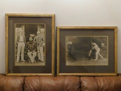 Pair Of Framed Photographic Reprints.   W G Grace. • 55£
