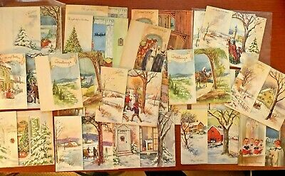 $ CDN4.90 • Buy Vintage Christmas Pop Up 3D Greeting Cards Lot Of 21 Some Unused!