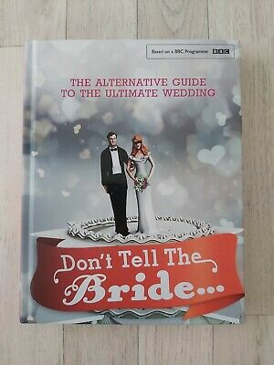 BRAND NEW Don't Tell The Bride Renegade Pictures (UK) Ltd Book BBC  • 3.29£