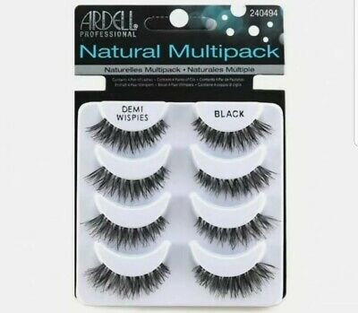 Ardell Demi Wispies False Eyelashes Multipack - 4 Pairs Of Natural Lashes Pack • 7.95£