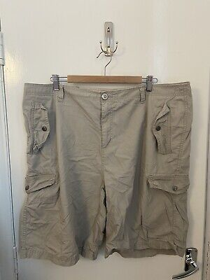 Airwalk Mens Beigo Cargo Shorts Casual Summer Size 2XL. D111420 • 4.50£