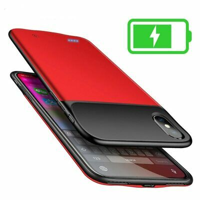 AU75.12 • Buy Battery Charger Case For Iphone 6 6s 7 8 X 10 Xs Max Xr Soft Tpu Frame Silicone