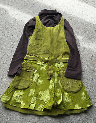 Girls Marese Dress And Top Age 6 Years  • 10£