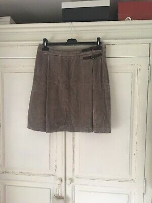Boden Cord Skirt Size 12 Fawn • 6£