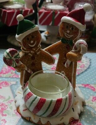 Yankee Candle Christmas Gingerbread Tealight Holder • 8.45£
