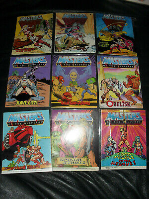 $35 • Buy Masters Of The Universe MOTU He-Man Mini Comic Lot Of 9 Acceptable To Good #10