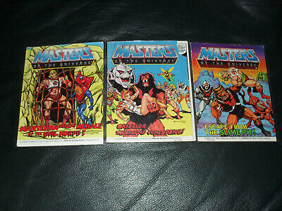 $30 • Buy Masters Of The Universe MOTU He-Man Mini Comic Lot Of 3 Horde Acceptable To Good