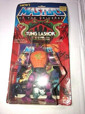 $225 • Buy MOTU VINTAGE Masters Of The Universe TUNG  LASHOR RARE1985 ISSUE ON CARD SEALED