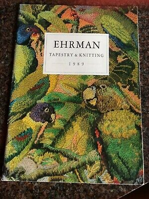 Ehrman Tapestry And Knitting 1989 Brochure • 5£