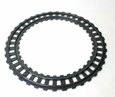 £14.37 • Buy Playmobil 123 Train Track 8 Curved Pieces Full Circle #6880 Night Train 1990