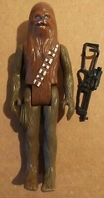 $ CDN5.23 • Buy Vintage Star Wars Loose Chewbacca Rare Green Limbs Complete Near Mint+ Hk Coo