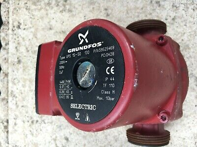 Grundfos 15-50 130 Central Heating Pump • 20£