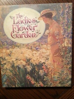 The Ladies Flower Garden Illustrated  Any Year Diary Journal • 15.99£