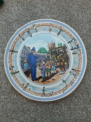 Wade - Ringtons 10  Collectors Plate  Street Games • 10£