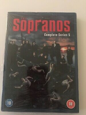 The Sopranos Complete Series 5 DVD New • 3.95£