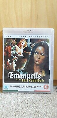 Emanuelle And The Last Cannibals Blu Ray Italian Collection NEW/SEALED • 12£