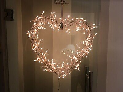 Christmas Wreath Ikea Glansa Light Up Garland Ornaments Door Hanger • 29.99£