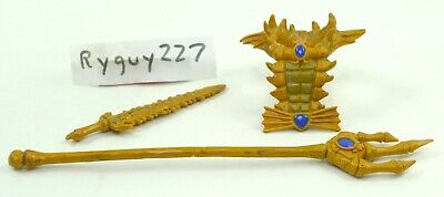 $30 • Buy MOTUC, Mer-Man Gold Sword, Trident, Masters Of The Universe Classics, Weapons