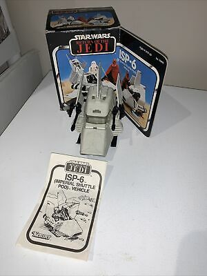 $ CDN75 • Buy Vintage Star Wars ISP-6 Shuttle Mini Rig Complete With Box