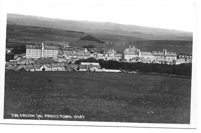 Real Photo Plain Back Postcard, The Prison, Princetown. HMP Dartmoor Real Photo • 2.99£