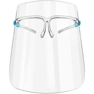 £2.45 • Buy FACE SHIELD Visor Glasses ANTI FOG Protect Protection Clear PPE Cover Mask