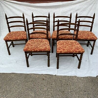 Vintage Set Of 6 Younger Toledo Style Dining Chairs • 60£
