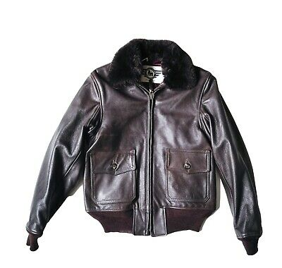 $1530.52 • Buy Edwin X' Alexander Leathers USN Type M422a, Seal Brown, S