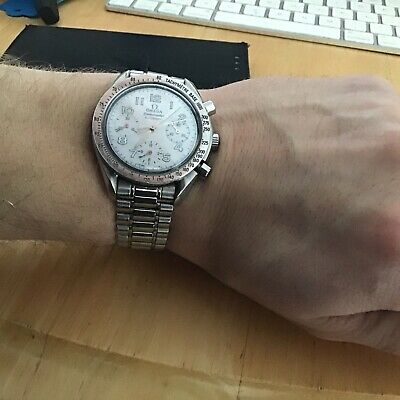 Omega Speedmaster Reduced Mother Of Pearl Dial • 999£
