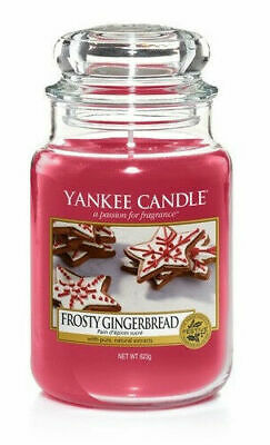 Yankee Candle Frosty Gingerbread Large Classic Jar Candle • 20£