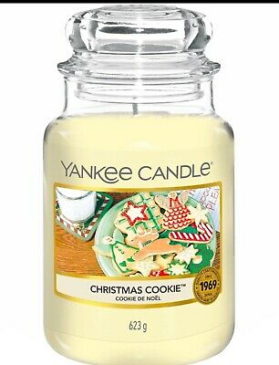 BRAND NEW Yankee Candle Christmas Cookie Large Jar Festive  Classic • 18.99£