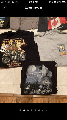 $ CDN39.20 • Buy Lot 25 Vintage T-shirts Harley Davidson Biker Tee Shirts
