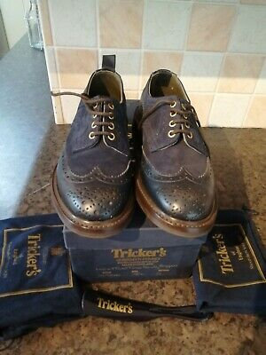 Tricker's Two Tone Derby Brogues • 125£