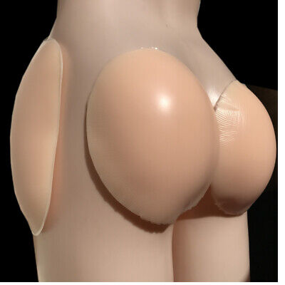 £35 • Buy 4 Piece Self-adhesive Silicone Fake Buttocks Pants Special Silicone Hip Pad