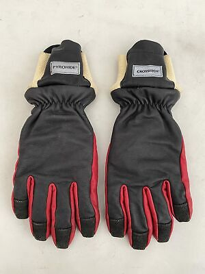 £19.99 • Buy Ex Fire & Rescue Fire Fighter Fusion Pyrohide Crosstech Leather Gloves - Grade 1