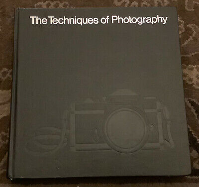 The Techniques Of Photography, Time-Life, Hardback Book, 1980` • 10£