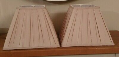 Laura Ashley Square Lamp Shades - Oyster • 6.50£