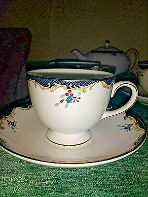 Wedgewood - Chartley  Blue China Tea Set - Immaculate Condition • 220£