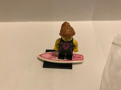 Genuine Lego Minifigures Series 4 Surfer Girl Minifig • 4.50£