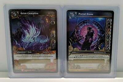 WOW TCG Blizzard World Of Warcraft Portal Stone Loot Card • 240£