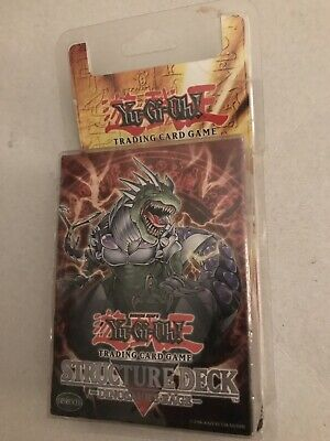 Dinosaurs Rage Structure Deck 1st Edition Rare Plastic Sealed Mint Yu-Gi-Oh • 40£