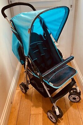 Hauck Sport Lightweight Pushchair/Buggy/Pram/Stroller *BARELY USED* + Raincover • 30£