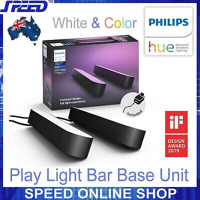 AU199 • Buy PHILIPS Hue White And Color Ambiance Play Light Bar Base Unit - (Double Pack)