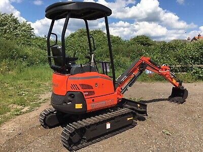 Mini Digger 2 Ton New Kubota Hitachi Jcb With Yanmar Diesel Engines Rubber Track • 14,995£