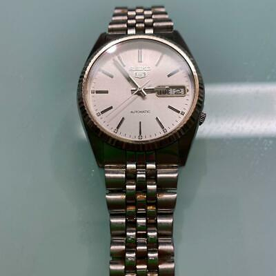 $ CDN469.56 • Buy Seiko 5 Day Date Used Automatic Mens Watch Authentic Working